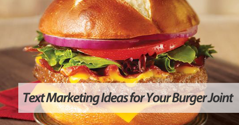 text marketing for fast food chains